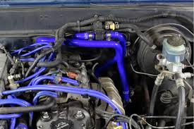 Toyota 85-95 4Runner 22RE NA EFI LHD HPS Black Silicone Heater ...
