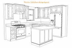 10 x 12 kitchen layout images 14 x 15 kitchen design blueprint