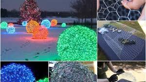 How To Make Outdoor Christmas Light Balls Creative Ideas Diy Outdoor Christmas Light Balls