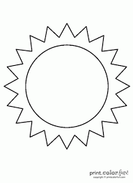 sun coloring page. Perfect Coloring Sun On Coloring Page