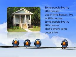Small Picture Types of houses for kids song
