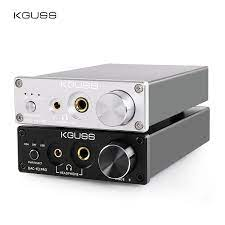 KGUSS DAC K3PRO TPA6120A2 ESS9018K2M MINI HIFI USB DAC Décodé Casque Audio  Amplificateur 24BIT 192KHz AMPLI DC12V USA/UE
