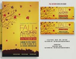 Fall Festival Flyer Free Template Fall Flyer 3 Free Autumn Templates Event Monister