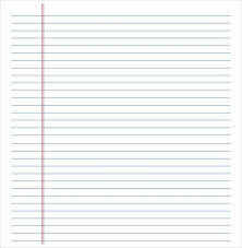 Ms Word Lined Paper Template Free Download