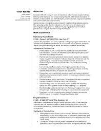 Best Medical Surgical Nurse Resume Contemporary Simple Resume