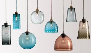 n glass pendant lights ideas inspiring unique interior