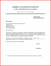 Sample College Letter Of Intent Sample Letter Intent For University Documents Pdf Word College 19