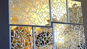 DIY Mirror Mosaic Art
