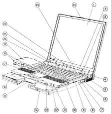 compaq armada e parts and schematic diagram