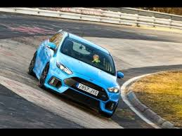 <b>Ford Focus RS</b> 2016 Nurburgring test on board (dry and wet track ...