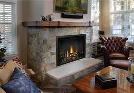 enhance the elegant beauty of your fullview 41 décor gas fireplace with a rustic barn wood inspired mantel including decorative brackets from magrahearth