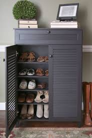 Shoe organizer furniture Front Main Door In Addition To The Five Shelves The Cabinet Also Has Drawer For Accessories Pinterest Entryway5shelvesshoe Garage Pinterest Shoe Storage Shoe