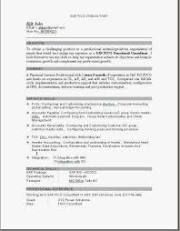 sap mm consultant sample resume sap mm consultant resume