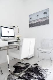 home office reveal blogger kayla seah not your standard pretty stylish chic  white decor black clean