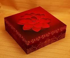 Paper Lotus Flower Lotus Flower Wedding Card Box