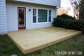 how to build a deck over patio plans table wooden with regard decking remodel 13