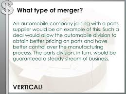 Vertical Merger Example Ppt Mergers And Market Structures Powerpoint Presentation Id 1656968