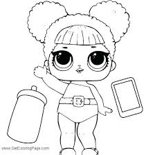 Lol Doll Coloring Pages That You Can Print Out Free Surprise Doll