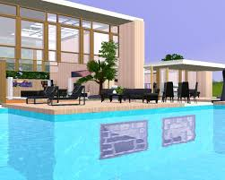 basement pool house. Patio A Lot As U Can See There Is Windows In The Pool Yes It Underwater Basement Thats Reason House Called Modern POOL Image Below O