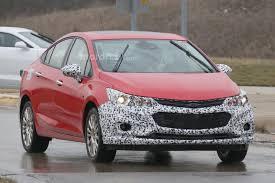 Spied: 2018 Chevrolet Cruze Hybrid