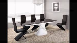 dining room table table and chairs black glass extending dining table square table and chairs glass