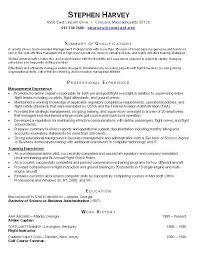 samples of functional resume