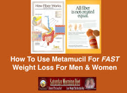 metamucil for quick weight loss