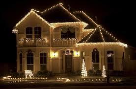christmas home lighting. White Christmas Lights For The Roof Home Lighting
