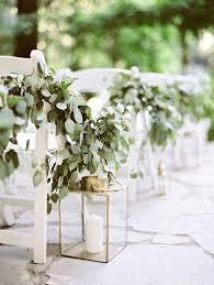 wedding aisle flowers. 2017 Wedding Trends Top 30 Greenery Wedding Decoration Ideas