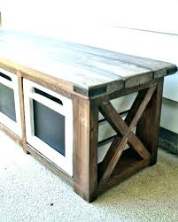 storage benches wood white indoor wooden shoe bench garden with back