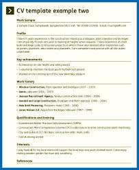 Resume Skills Examples Construction - Embersky.me