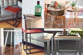 cheap homemade furniture ideas. DIY End Table Ideas: Top 5 Easy And Cheap Projects Homemade Furniture Ideas H