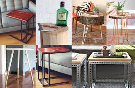 diy end table ideas top 5 easy and projects