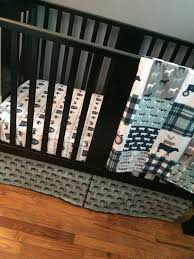 baby boy custom crib bedding set made