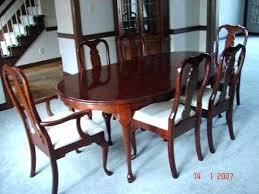 attractive design ideas pennsylvania house dining room chairs set my hallmark solid cherry table vine