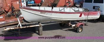 lone star boat works lonestar 14 aluminum v hull boat item 6346 sold august