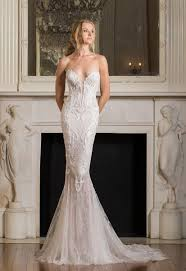sexy fit and flare wedding dress kleinfeld bridal