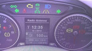 Audi Q5 Dashboard Warning Light Symbol Lamps What They Mean
