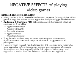 video games violence essay violent video games are linked to aggression study