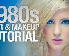 80s hair makeup tutorial