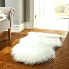 white fluffy faux fur rug red blush small ikea fuzzy sleeping carpet ho