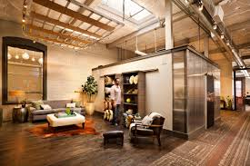 office barn. sliding barn doors that double as a bookcase office