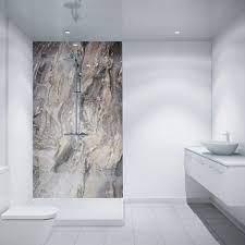 Waterproof Wall Panels Are A Great Option For Walk In Showers Stylish Waterproof Bathroom Wall Panels Bathroom Wall Coverings Waterproof Bathroom Wall Panels