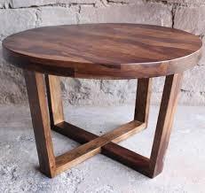 solid rose sheesham wood 4 round wooden