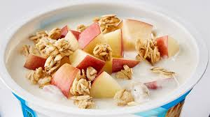 apple cinnamon crunch yogurt bowl