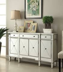 hall console cabinet. 60-inch Mirrore Relection Andrea Hall Console DH-695 (Silver) - Chans Cabinet S