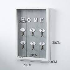 ซ อ wall mounted key holder wooden key