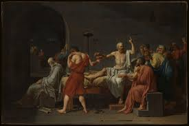 Jacques Louis David The Death Of Socrates The Met