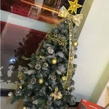 Biwinky Weihnachtsstern Weihnachtsbaum Spitze Schmuck Deko 2015cm Silber