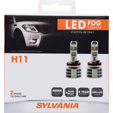 Sylvania Zevo Fog Lights Zevo Led Fog 5 Year Warranty Bright White Led Style And